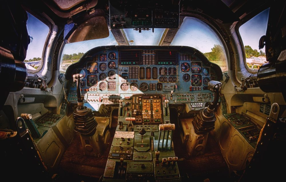Кабина экипажа Ту-160