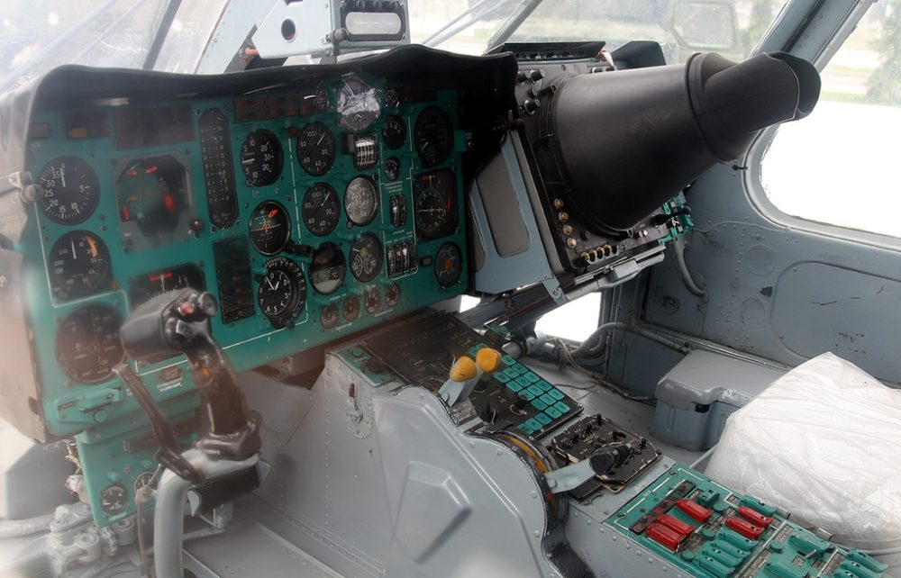 Кабина Ка-27ПЛ