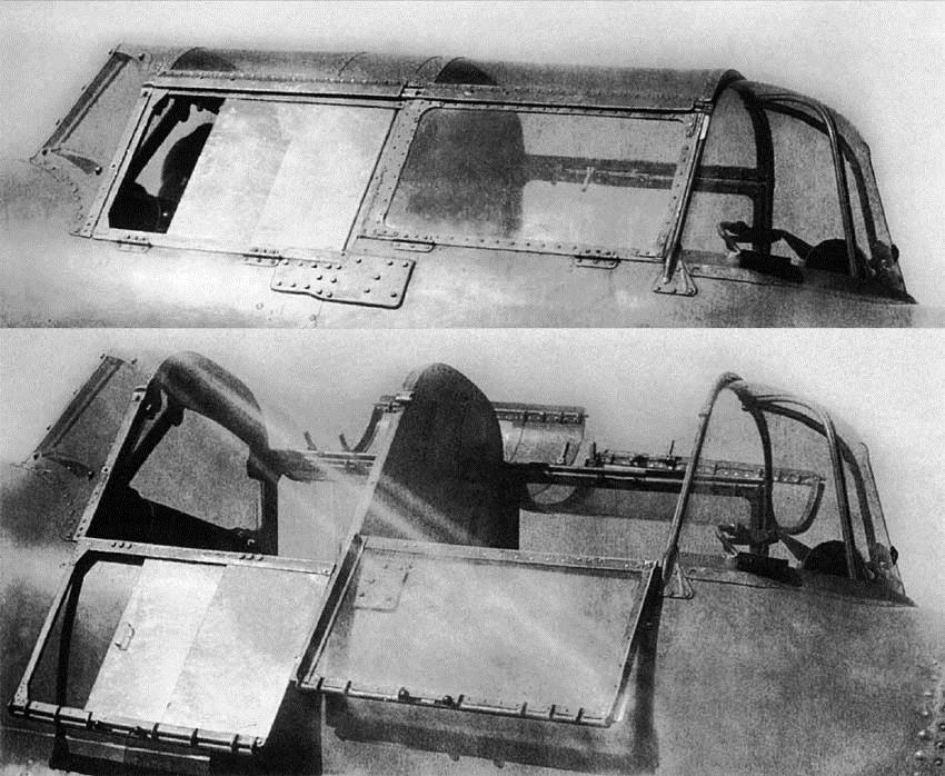 Кабины на ЦКБ-55