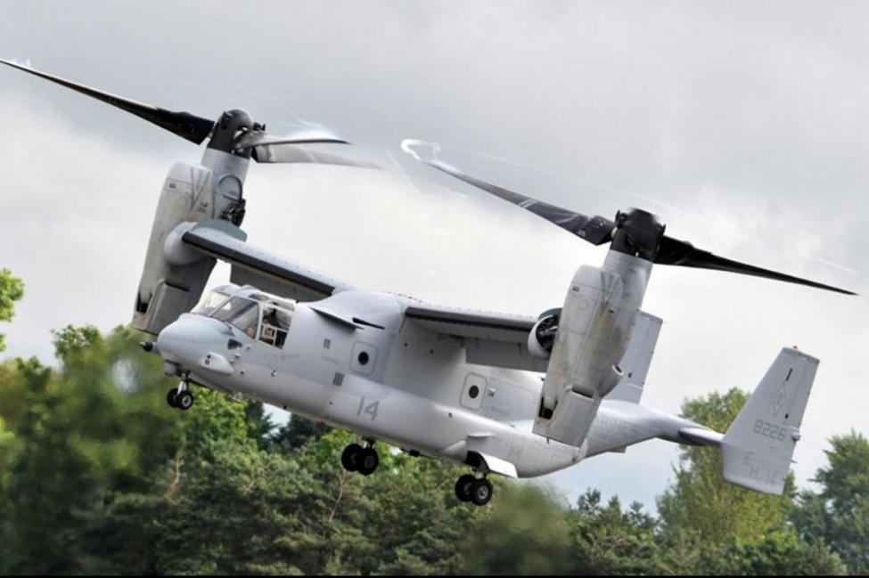 Конвертоплан V-22 Osprey