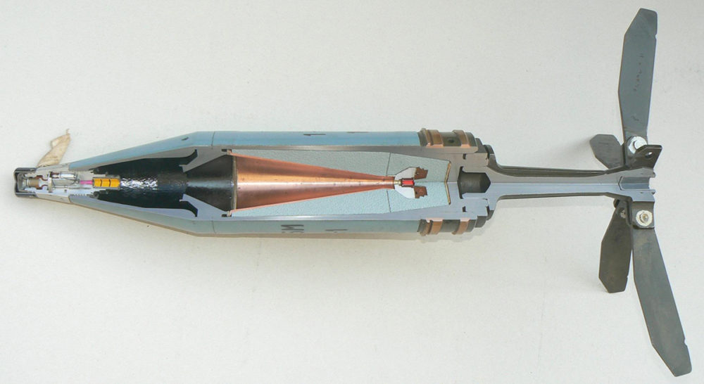 Кумулятивный боеприпас