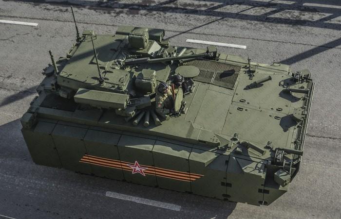 «Курганец-25», вид сверху