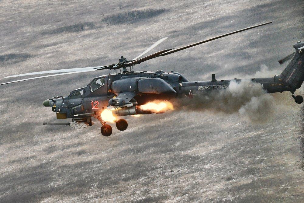 Ми-28, пуск ракеты