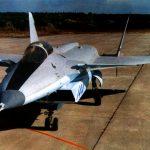 МиГ 1.44 МФИ, вид спереди