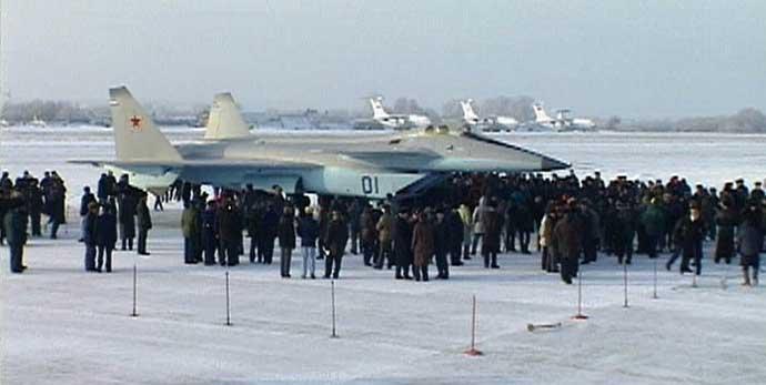 МиГ 1.44 на испытаниях