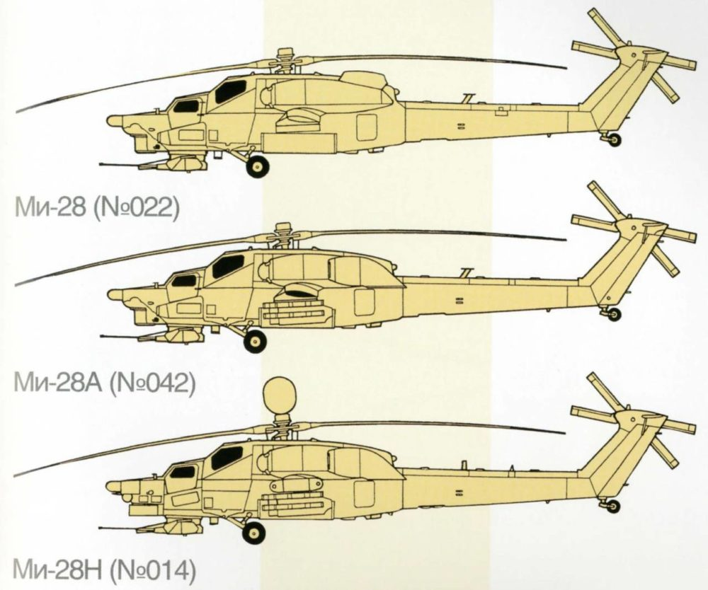Модели Ми-28