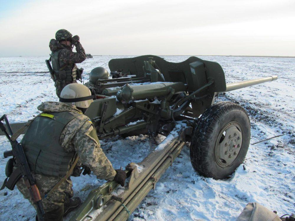 МТ-12 в снегу