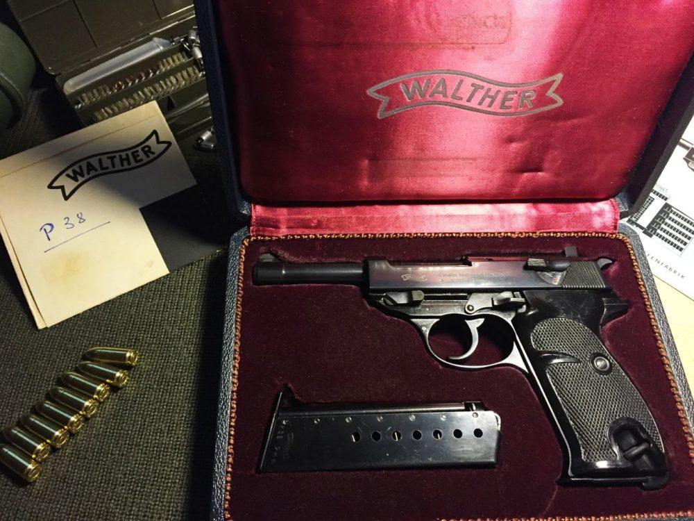 Наградной Walther P38
