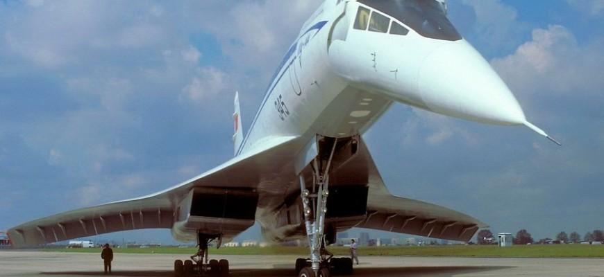 Отклонение носовой части Ту-144
