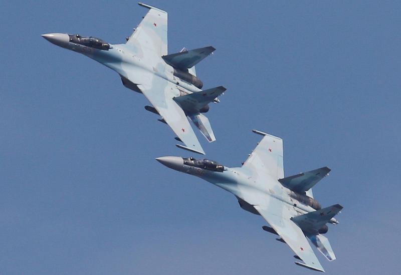 Пара Су-35