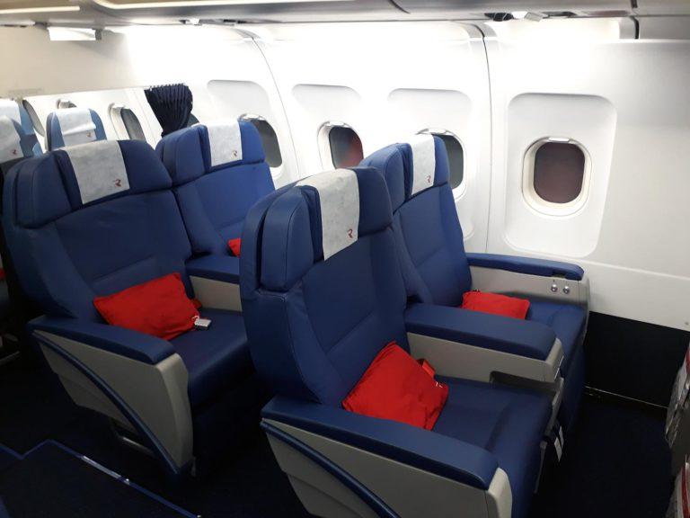 Пассажирские кресла в A319