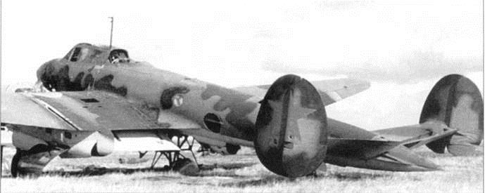 Пе-2 в маскировочном окрасе