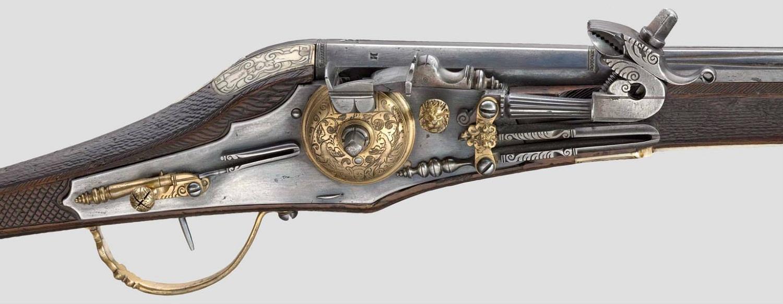 Пистолет с колесцовым замком