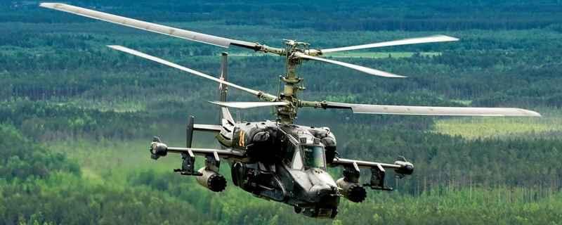 Полет Ка-50