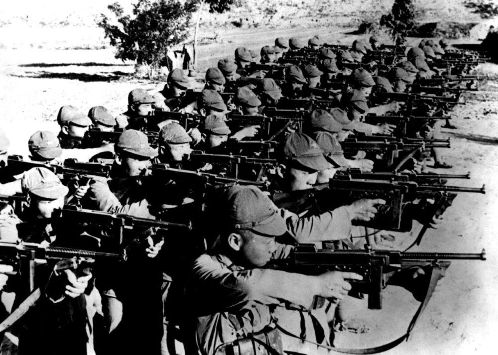 ПП Томпсона в армии Кореи