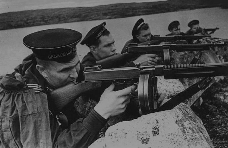 ПП Томпсона в армии СССР