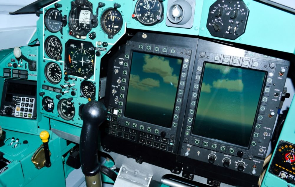 Приборная панель МиГ-31БМ
