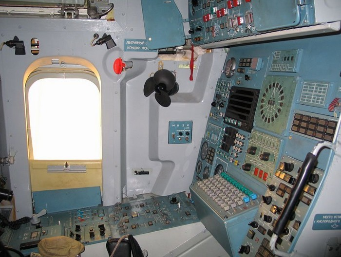 Рабочее место штурмана Ту-160
