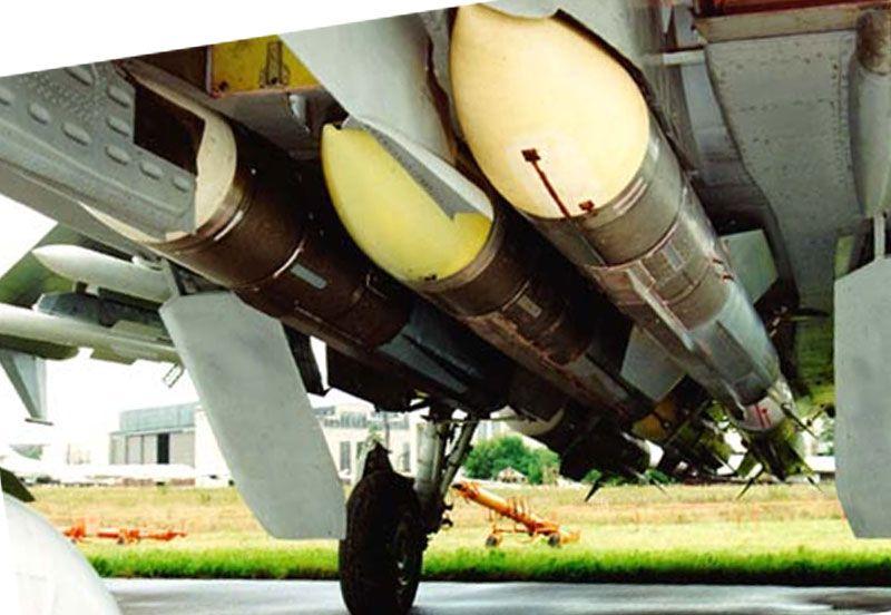 Ракеты на МиГ-31