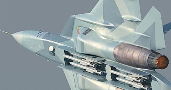 Ракеты на Су-57