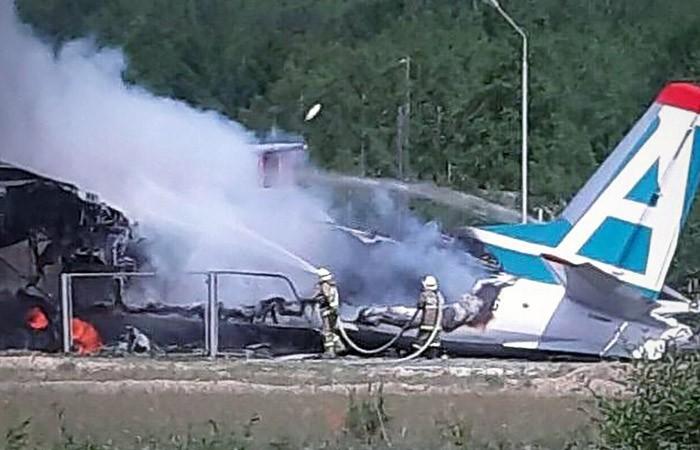 Разбившийся Ан-24