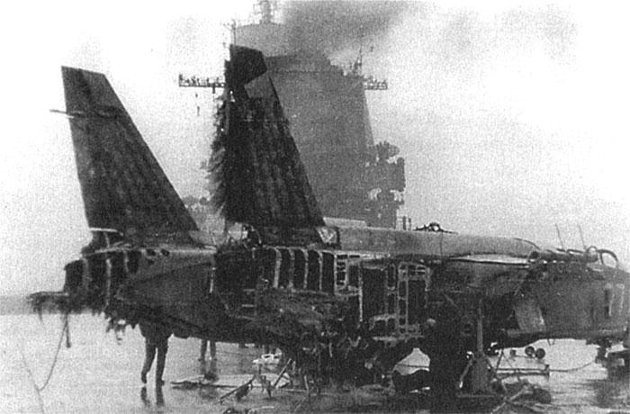 Разбившийся Як-141
