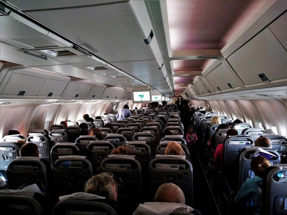 Салон Boeing 767