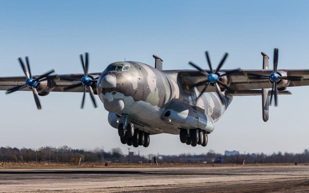 Самолет Ан-22 «Антей»