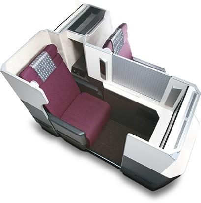 Сиденья бизнес-класса Boeing 787
