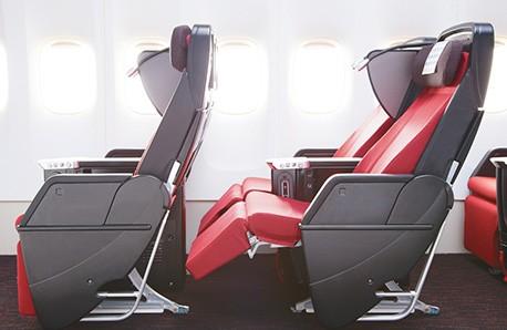 Сиденья премиум-класса Boeing 787