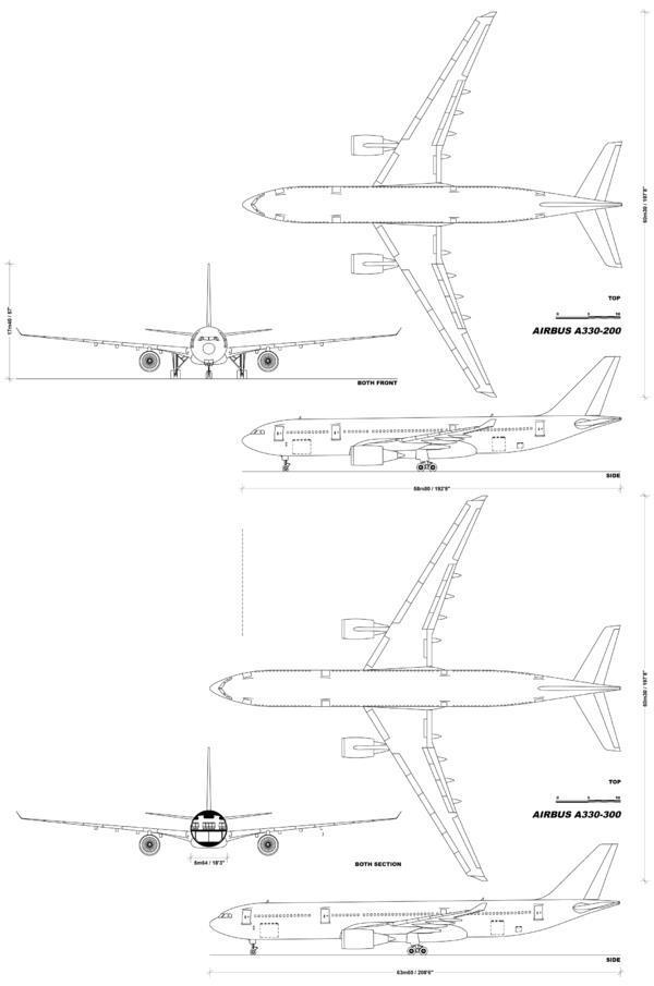 Схема А330