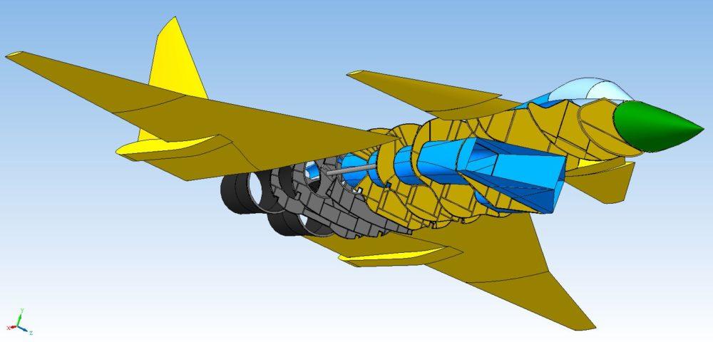 Схема МиГ 1.44