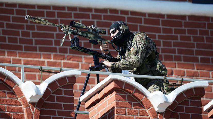 Снайпер ФСО с Т-5000