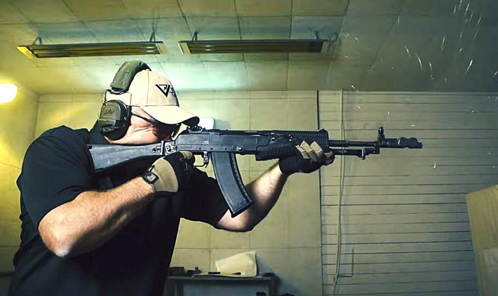 Стрельба из АН-94