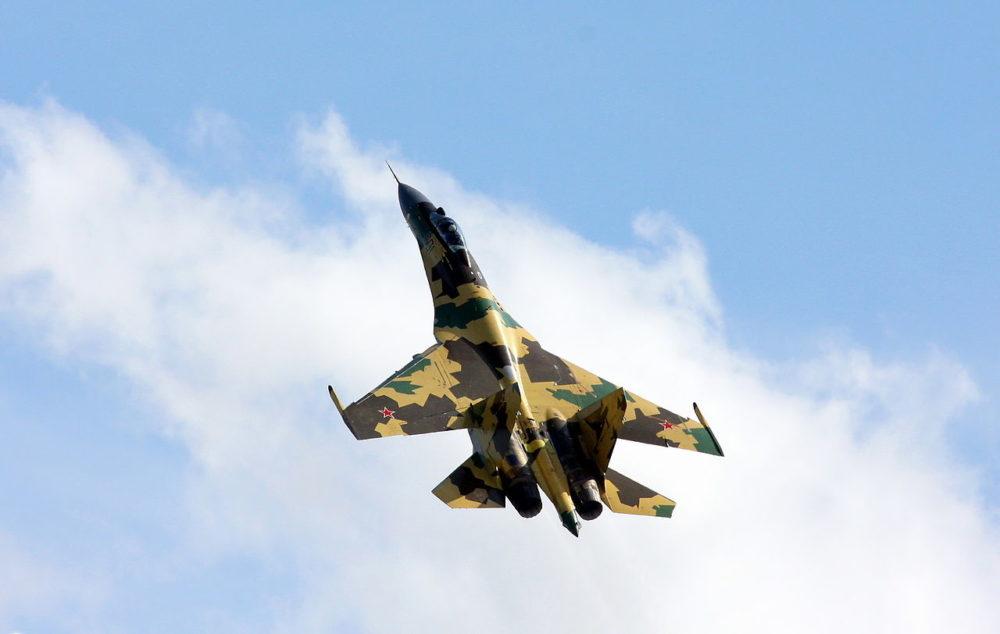 Су-35 на МАКС-2009