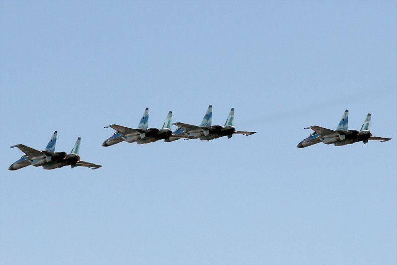 Су-35 на Параде Победы