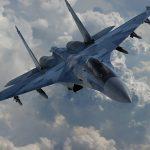 Су-35 в полете