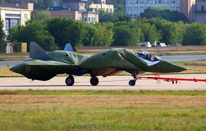 Су-57 «в упаковке»