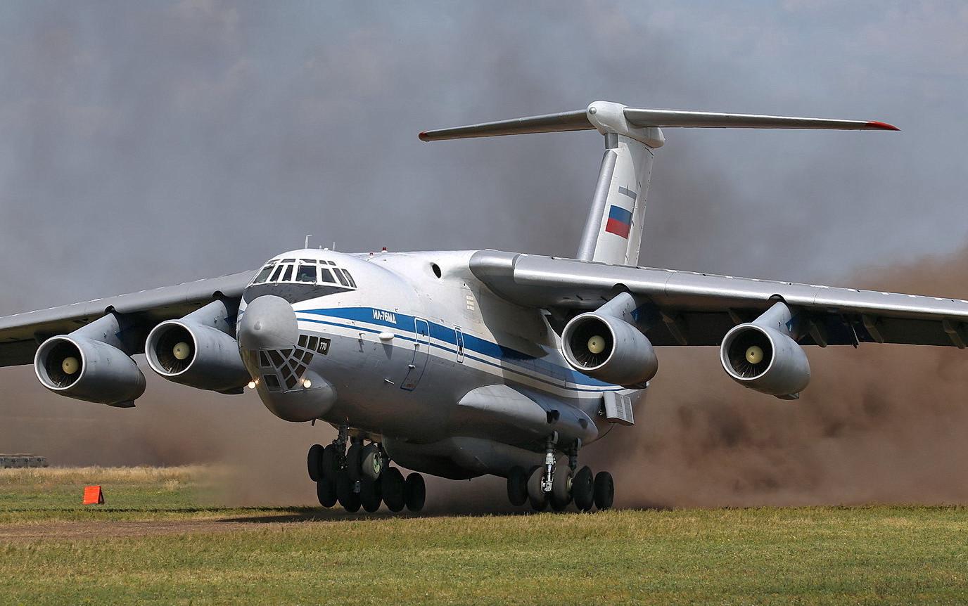 Транспортный Ил-76