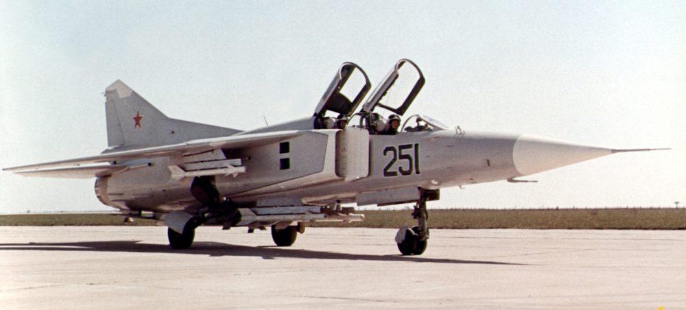 Учебно-боевой МиГ-23
