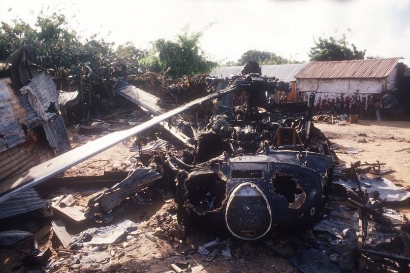 UH-60, сбитый из гранатомета