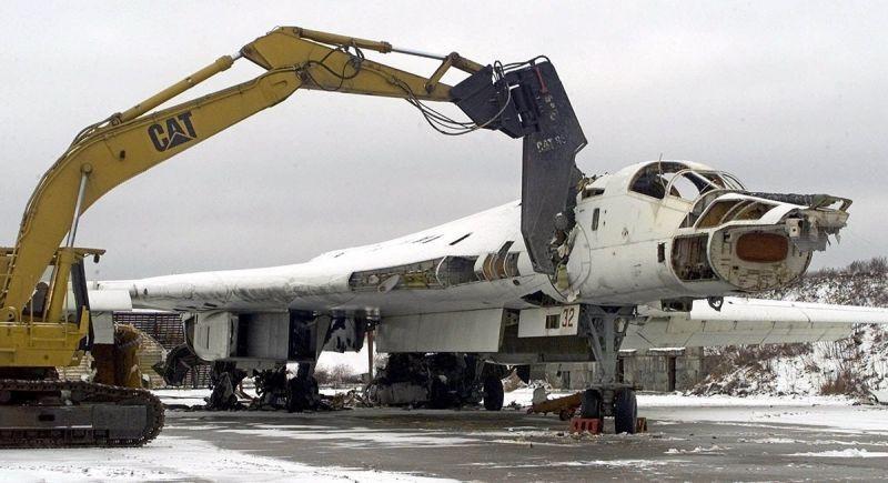 Утилизация Ту-160