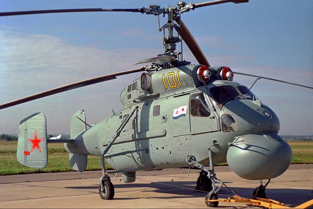 Вертолет Ка-25