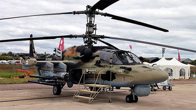 Вертолет Ка-52 «Аллигатор»