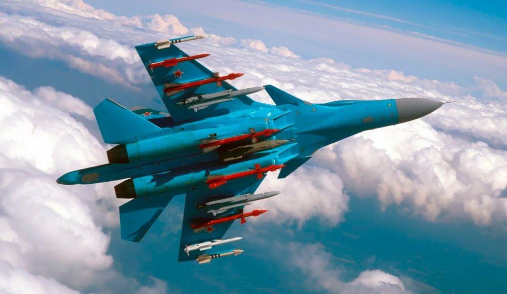 Вооружение Су-34