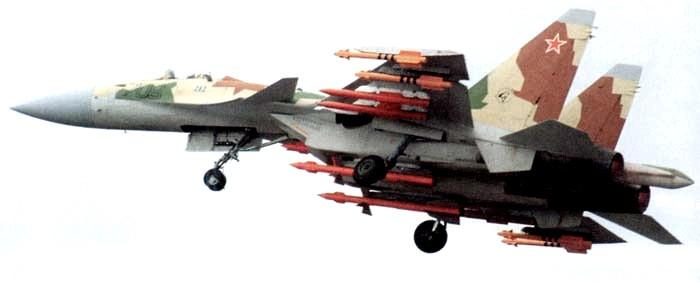 Вооружение Су-37