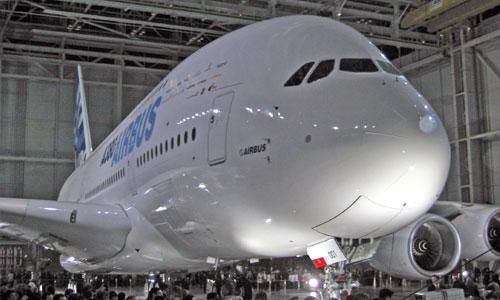 Выкатка Airbus А380