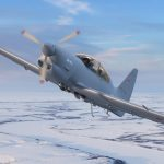Як-152 в воздухе
