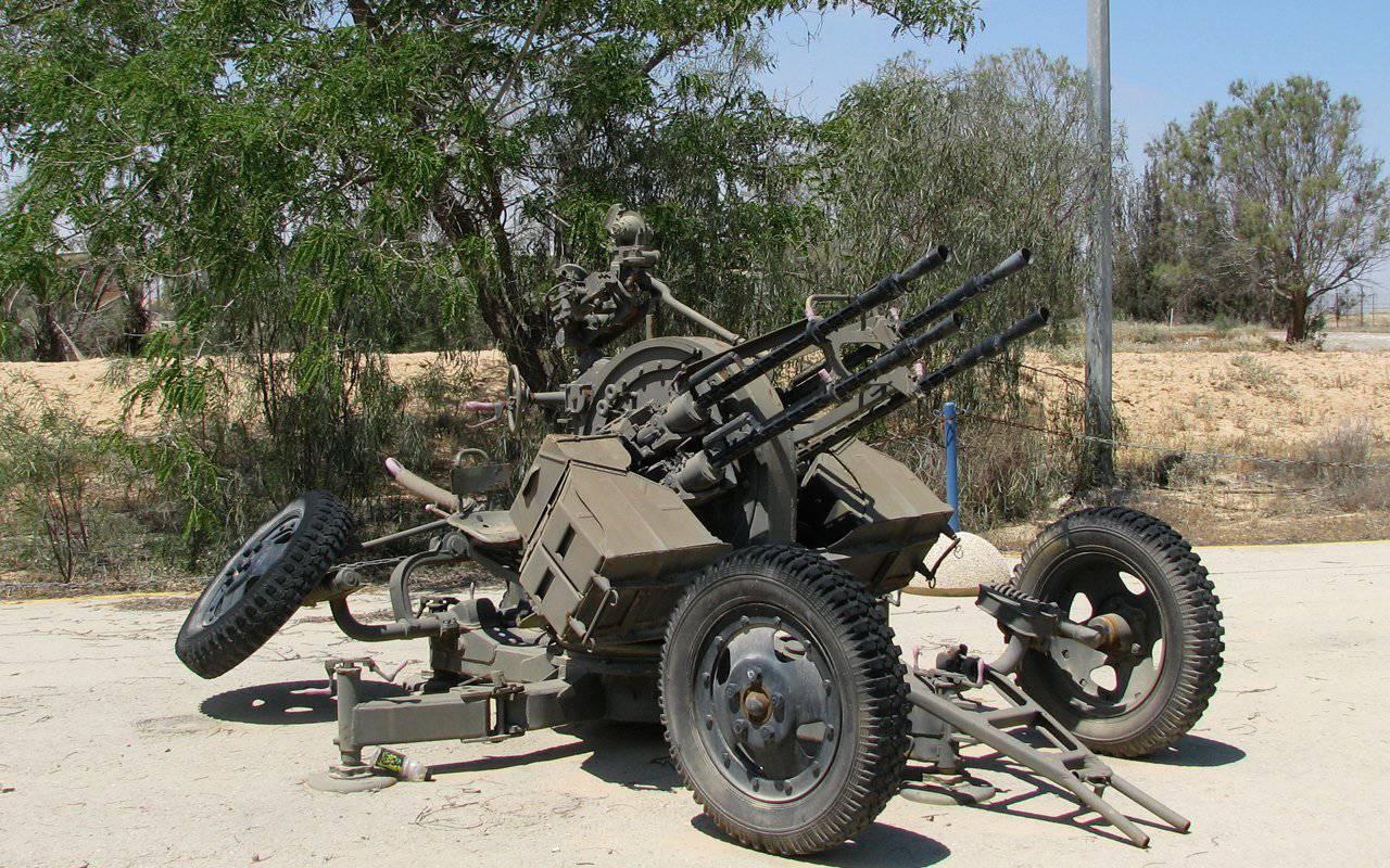 Зенитная пулеметная установка