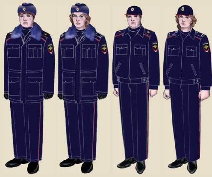 Женская полицейская форма
